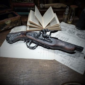 Replica 19th Century Flintlock Pistol